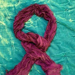 Ralph Lauren ruffle scarf